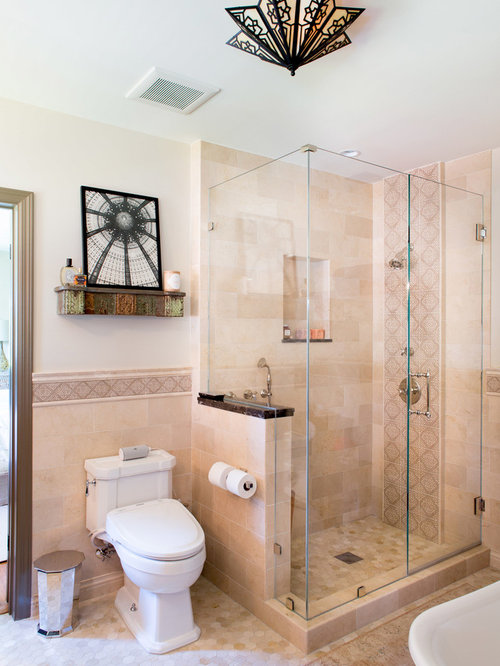Shower Next To Toilet Houzz