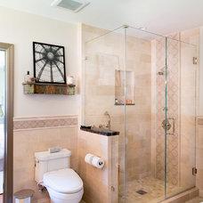 Mediterranean Bathroom by Charmean Neithart Interiors, LLC.