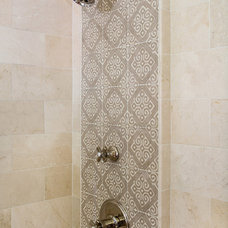 Mediterranean Bathroom by Charmean Neithart Interiors, LLC.