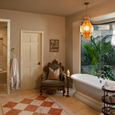 Mediterranean Bathroom by Wendy Black Rodgers Interiors