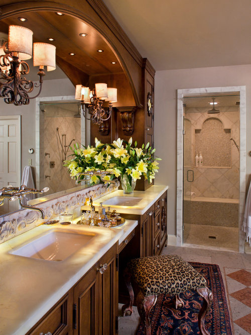 Spanish colonial bathroom home design ideas pictures for Spanish colonial bathroom design