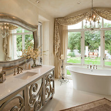Mediterranean Bathroom by Matthew Thomas Architecture, LLC
