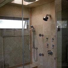 Mediterranean Bathroom by Terrell Design & Development