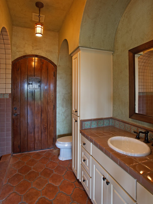 Spanish Bathroom Home Design Ideas Pictures Remodel And