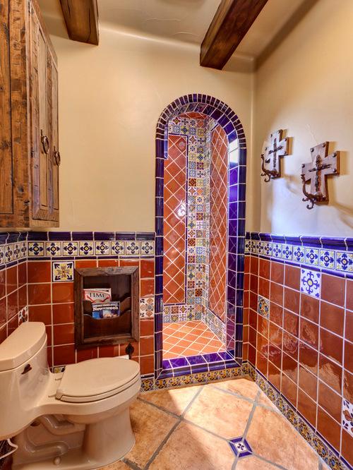 Mexican Tile Bathroom | Houzz