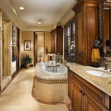 Mediterranean Bathroom by David-Michael Design,Inc.