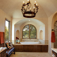 Mediterranean Bathroom by Geschke Group Architecture