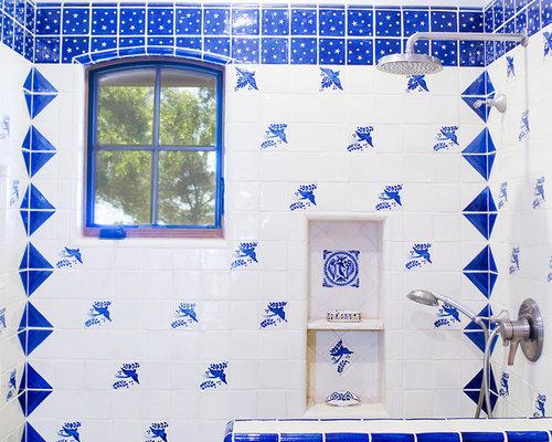 Hacienda Bathroom Home Design Ideas, Pictures, Remodel and Decor