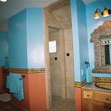 mediterranean bathroom by Advanced House Plans