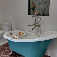 Mediterranean Bathroom by Synthesis Inc.