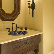 Mediterranean Bathroom by Astleford Interiors, Inc.