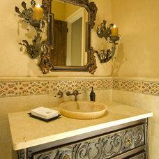Mediterranean Bathroom by Astleford Interiors, Inc.