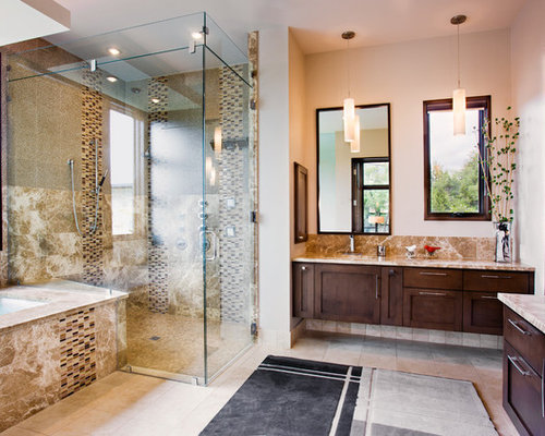 Bathroom Glass Shower Ideas, Pictures, Remodel and Decor