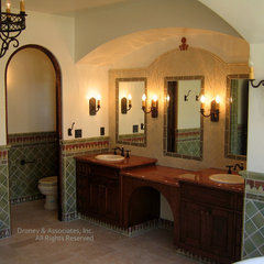 mediterranean bathroom by Timothy J. Droney General Contractor
