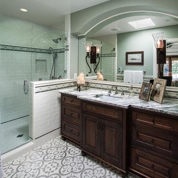 Spanish Revival Bungalow - Master Bath