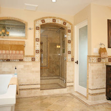 Mediterranean Bathroom by Jackson Design & Remodeling