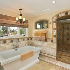 Mediterranean Bathroom by Jackson Design & Remodeling