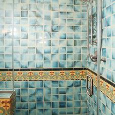 Mediterranean Bathroom by Cynthia Bennett & Associates