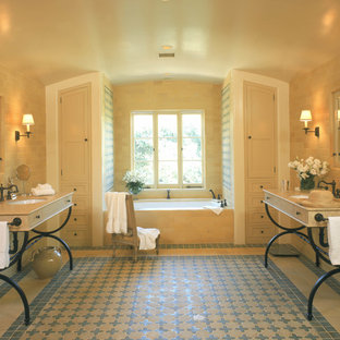 Spanish Style Master Bathroom
