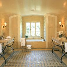 Mediterranean Bathroom by White Webb