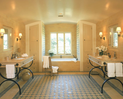 Spanish style bathroom ideas pictures remodel and decor for Spanish colonial bathroom design