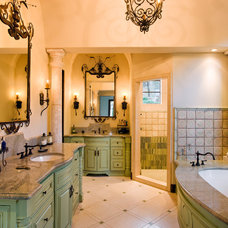 Mediterranean Bathroom by Van