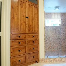 Beach Style Bathroom by Brighton Cabinetry