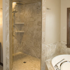 Mediterranean Bathroom by Radue Homes Inc.