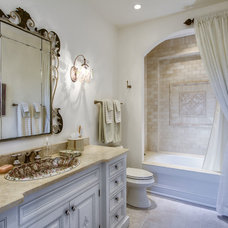Traditional Bathroom by David Rosenkranz Custom Homes