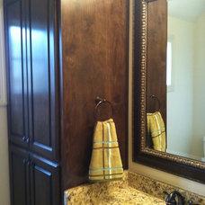 Traditional Bathroom Spencer Hayes-Kenny Hayes Custom Homes