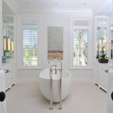 Traditional Bathroom by Perrone Construction
