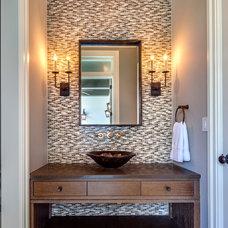 Tropical Bathroom by Perrone Construction