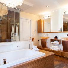 Contemporary Bathroom by Un Fauteuil Pour Deux