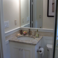 Traditional Bathroom by A.M.Carter Construction Inc