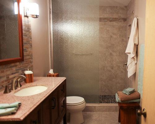 Split Level Basement Bathroom Remodel