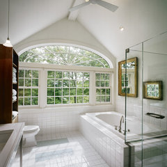 eclectic bathroom by LDa Architecture & Interiors
