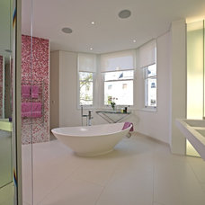 Contemporary Bathroom by sporadicSPACE