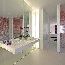 Contemporary Bathroom by sporadicSPACE