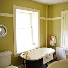 Farmhouse Bathroom by Amy Renea