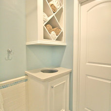 Transitional Bathroom by Sneller Custom Homes and Remodeling, LLC