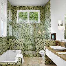 Modern Bathroom by Clayton&Little Architects