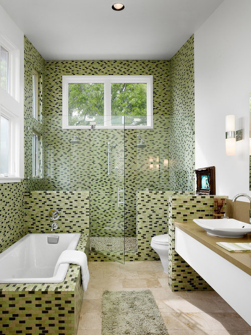 Square Bathroom Layout Design Ideas & Remodel Pictures | Houzz