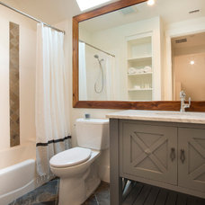 Beach Style Bathroom by Court Atkins Architects