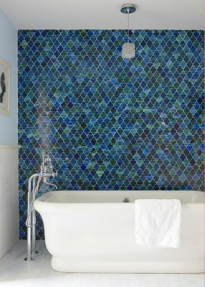 Beach Style Bathroom by threshold interiors