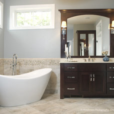 Contemporary Bathroom by Radue Homes Inc.