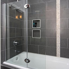 Contemporary Bathroom by Home Completions