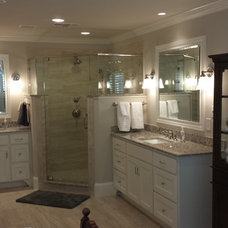 Traditional Bathroom by Heights Homes