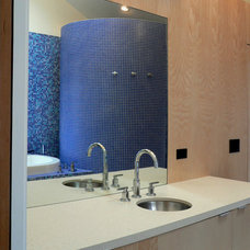 Modern Bathroom by mark gerwing