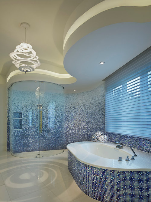 Ombre Tile Home Design Ideas Pictures Remodel And Decor