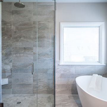 St. Charles Transitional Master Bath Retreat